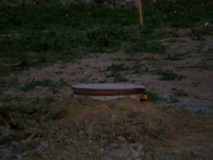 Voda připravena - vrt hotov v 5/2009