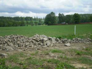 Kamení značně ubylo
