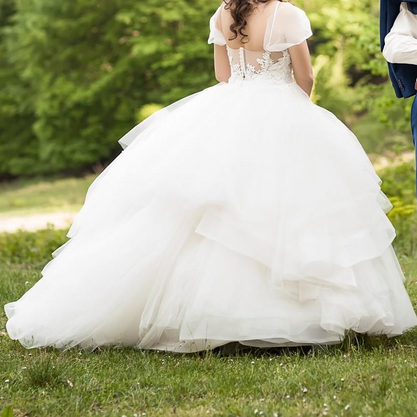 Svadobné šaty Enzoani Ibanda - Obrázok č. 1