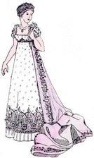 v takovém stylu budou mé svatební šaty, empír. I ženich bude mít oblek ve stejném stylu... ;o)