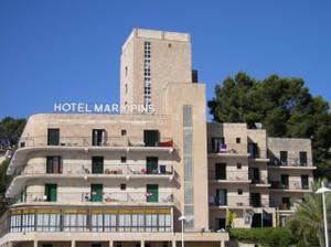 Z naší svatební cesty na Mallorce. Hotel přímo u pláže.