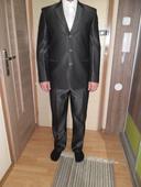 pánsky oblek velk.176/90, 50