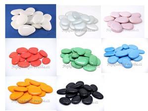 Další barevné varianty, které jsem samozřejmě netvořila :-D Jen mě překvapilo, že jsou k dostání včetně perleťově bílé:-)