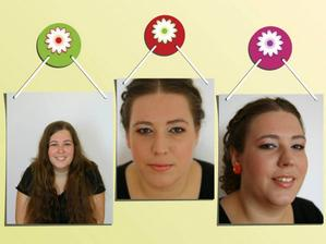 Make up +  spoločenský účes