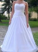 Svatební šaty vel. 40, 42