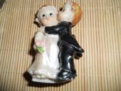 figúrka na svadobnú tortu,
