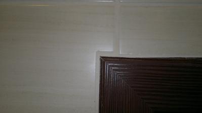 detail u dveří - to je tak těžké dodržet tl.spáry?