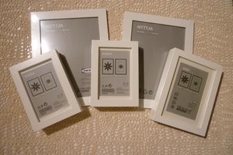 Rámečky vyplním potřebnými informacemi a po svatbě do nich dám fotky :-)