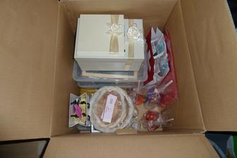Připravená krabice na svatbu