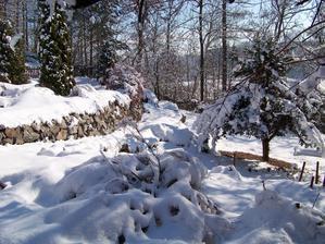 Další krásný zimní den. Máme prázdniny, škoda, že je syn nemocný. Tolik naplánovaných věcí bylo a teď sedíme doma.