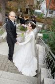 Krajkové svatební šaty zn. Jasmine, 36