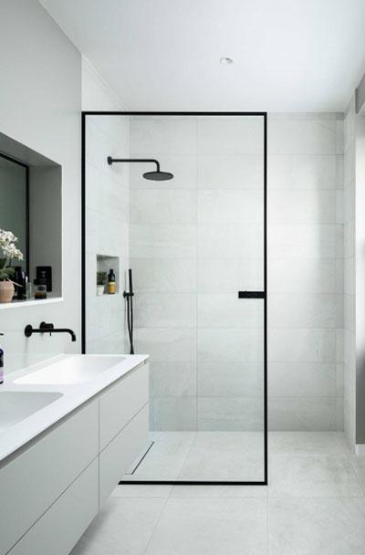 Ahojte, sprchova zastena bez vzpery, tj. uchytenie len v stene a podlahe, da sa to? Vsetky, co som pozerala, maju vzperu - Obrázok č. 1