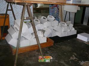 nachystané krabičky