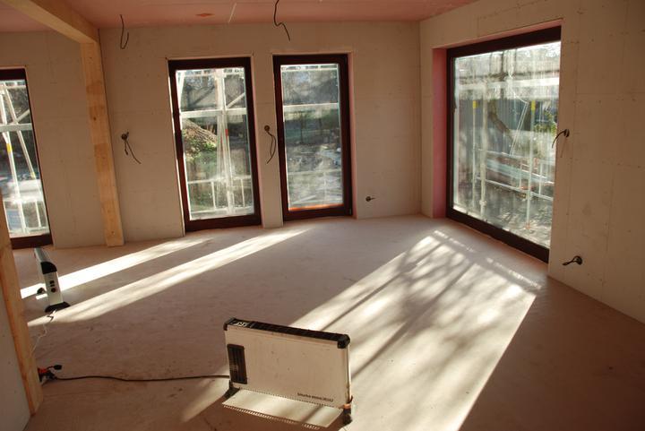 Pasivní dům - obývák