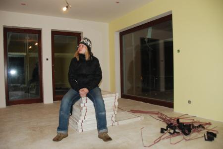 Pasivní dům - v obýváku