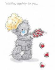 Tento roztomilý medvídek bude na krabičkách s výslužkou :)