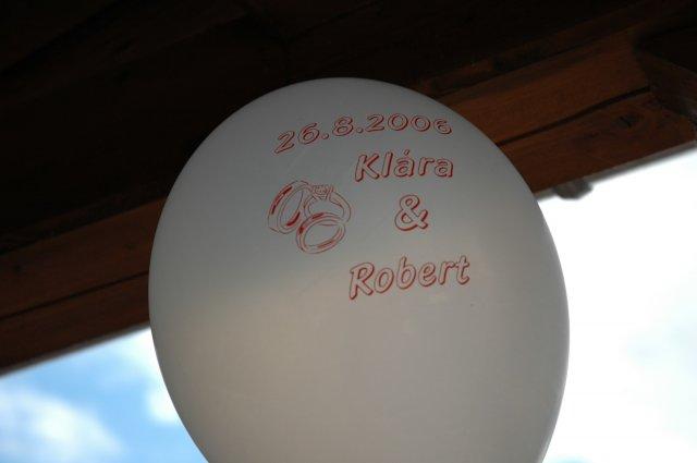 Klára Růžičková{{_AND_}}Robert Matoušek - Naše svatebni balónky