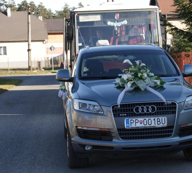Veronika{{_AND_}}Branislav - Svadobné auto