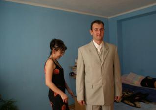 manžel pred odchodom