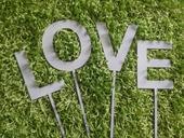 Písmena Love Jméno Příjmení Dekorace Focení 10cm,