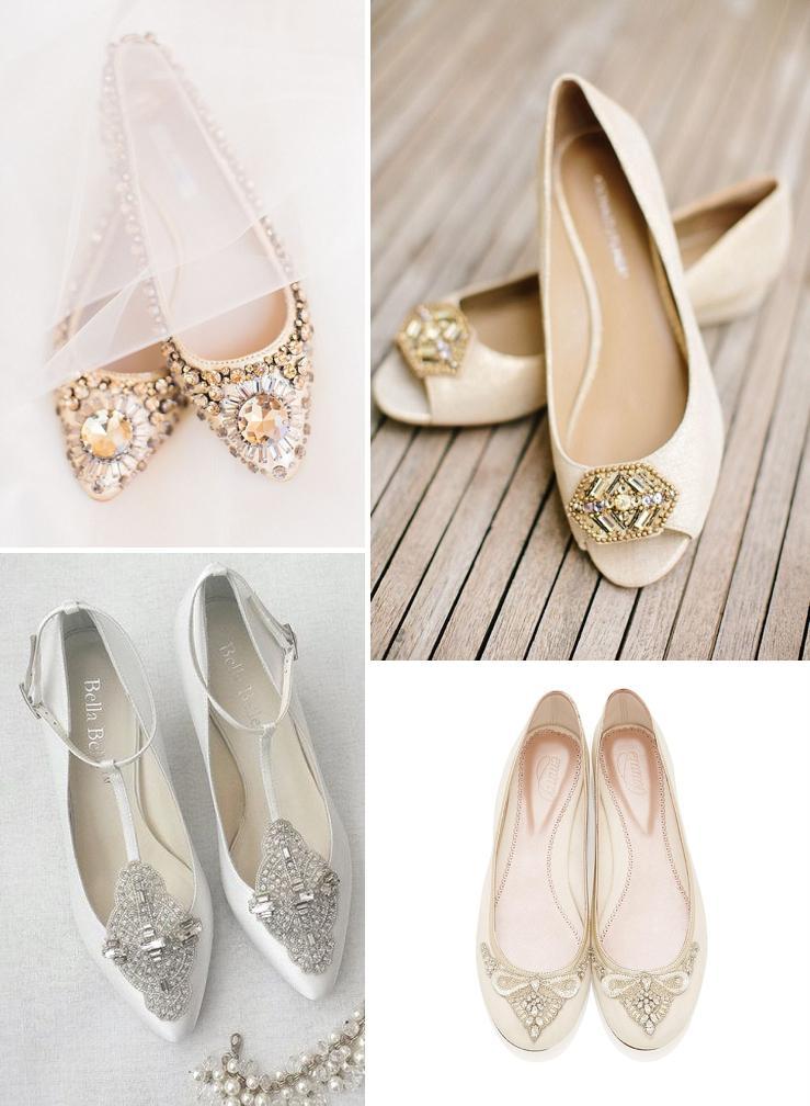 dievčatá, kde by som objednala takéto podobné svadobné balerínky? alebo kúpila aj niake klasické biele? ďakujem :) - Obrázok č. 1