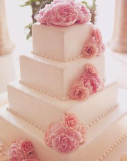 Ružové torty inšpirácie - Obrázok č. 1