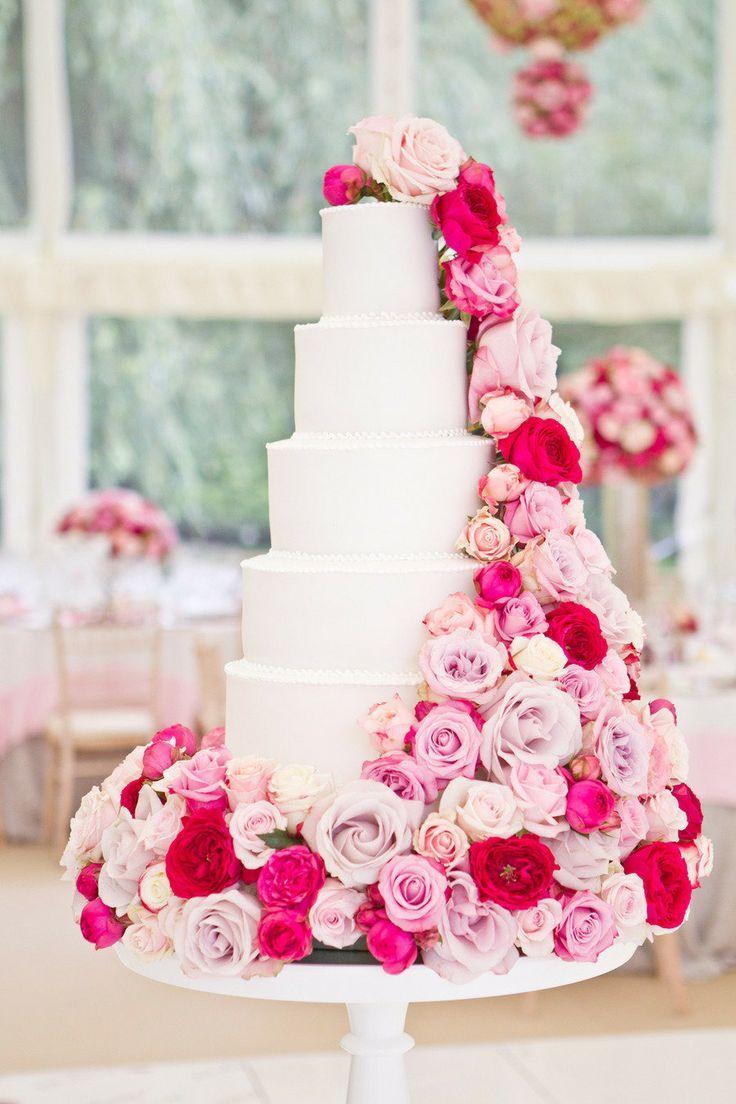 Ružové torty inšpirácie - Obrázok č. 4