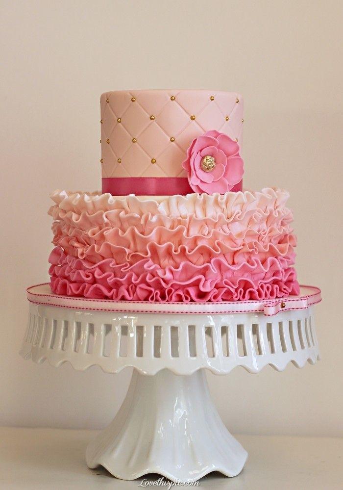 Ružové torty inšpirácie - Obrázok č. 8