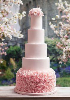 Ružové torty inšpirácie - Obrázok č. 11