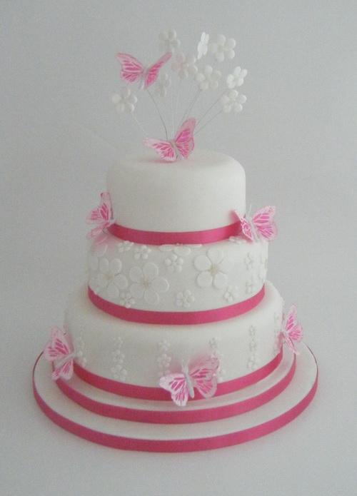 Ružové torty inšpirácie - Obrázok č. 13