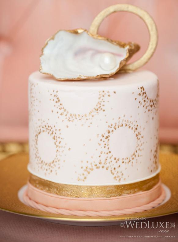 Ružové torty inšpirácie - Obrázok č. 14