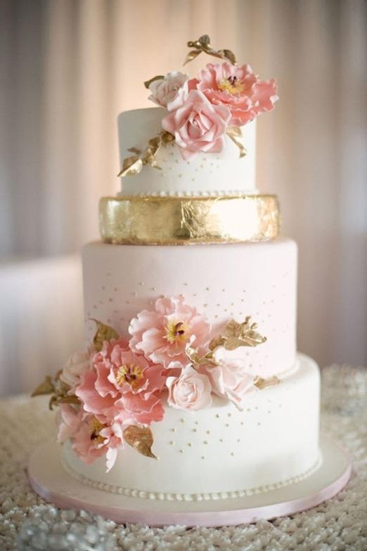 Ružové torty inšpirácie - Obrázok č. 15