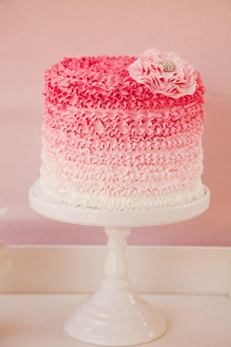 Ružové torty inšpirácie - Obrázok č. 17
