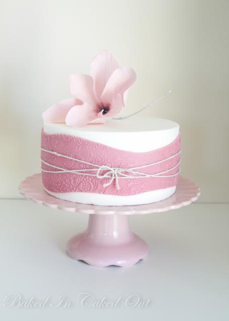 Ružové torty inšpirácie - Obrázok č. 19