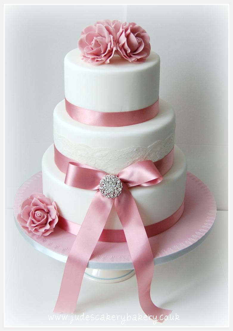 Ružové torty inšpirácie - Obrázok č. 21