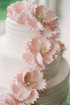 Ružové torty inšpirácie - Obrázok č. 24