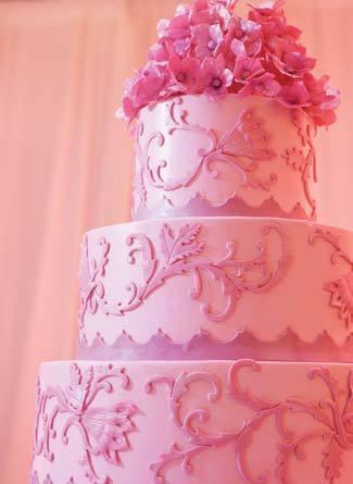 Ružové torty inšpirácie - Obrázok č. 28