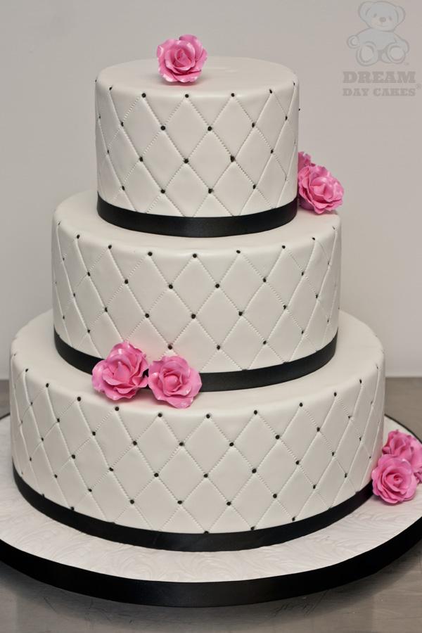Ružové torty inšpirácie - Obrázok č. 33