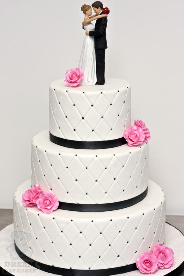 Ružové torty inšpirácie - Obrázok č. 34