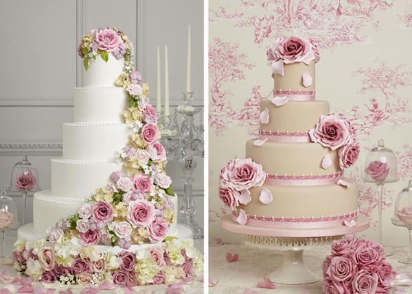 Ružové torty inšpirácie - Obrázok č. 35