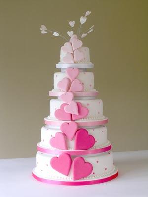 Ružové torty inšpirácie - Obrázok č. 37