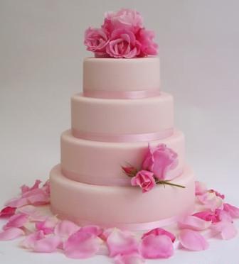 Ružové torty inšpirácie - Obrázok č. 38