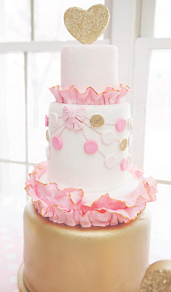 Ružové torty inšpirácie - Obrázok č. 40