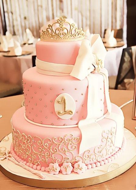 Ružové torty inšpirácie - Obrázok č. 41
