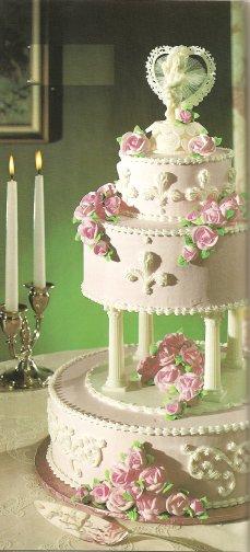 Ružové torty inšpirácie - Obrázok č. 42