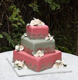 Ružové torty inšpirácie - Obrázok č. 43