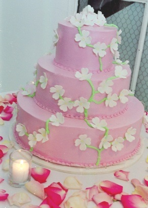 Ružové torty inšpirácie - Obrázok č. 47