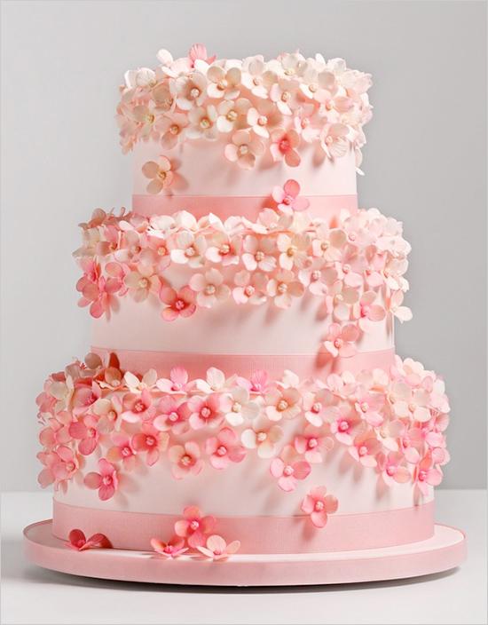 Ružové torty inšpirácie - Obrázok č. 48