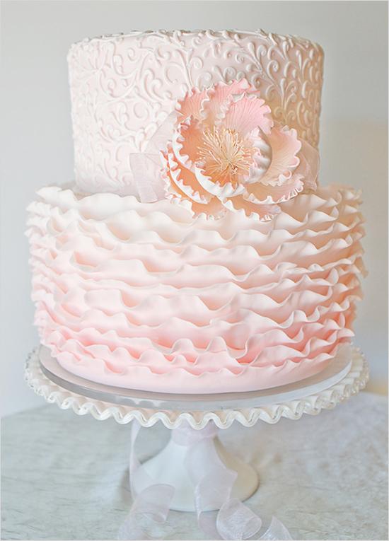 Ružové torty inšpirácie - Obrázok č. 49