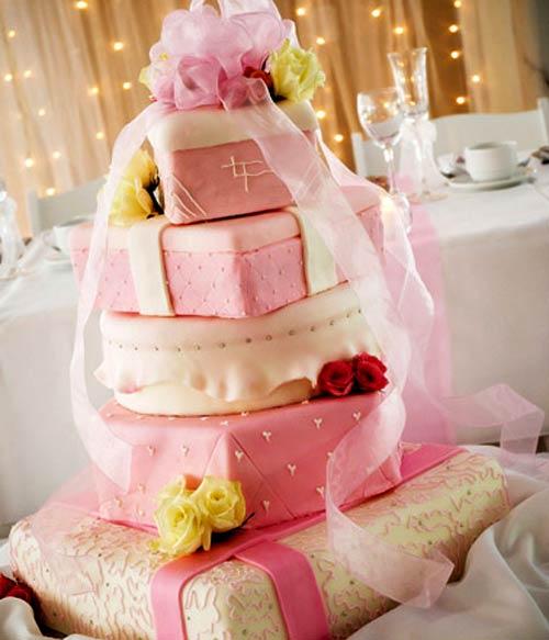 Ružové torty inšpirácie - Obrázok č. 52
